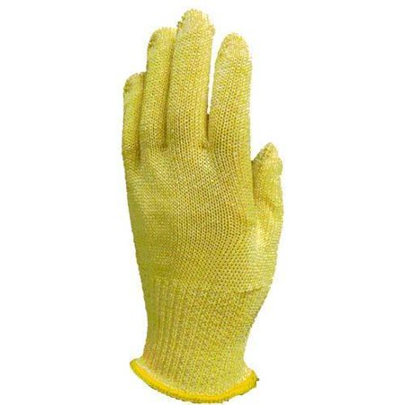 Tucker Safety Products No 94465 Wire Free Colored Cut Resistant Glove   Yellow
