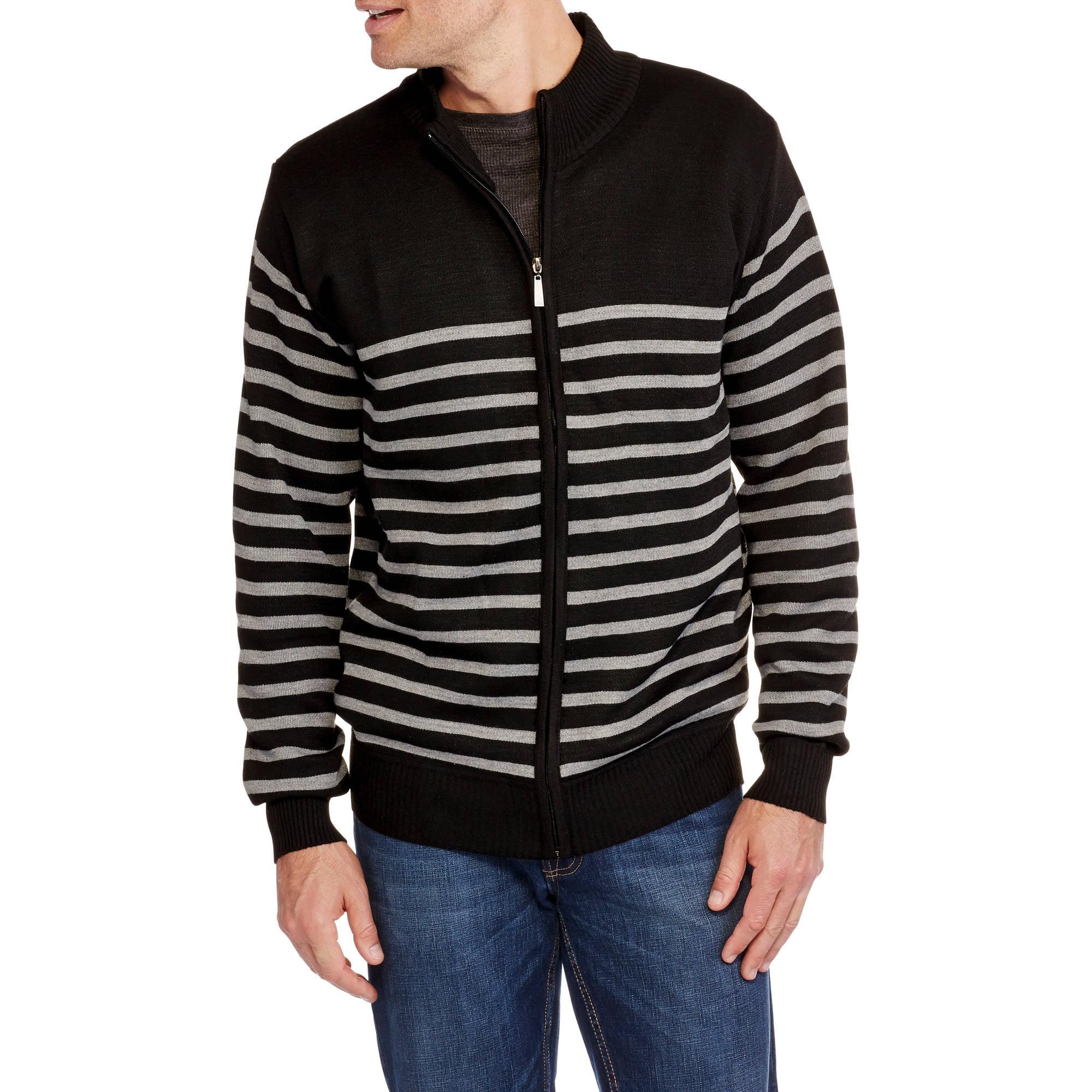 Men's Sleeve Full Zip Sweater