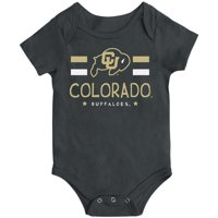 Colorado Buffaloes Colosseum Newborn & Infant Core Biggest Fan Bodysuit - Black