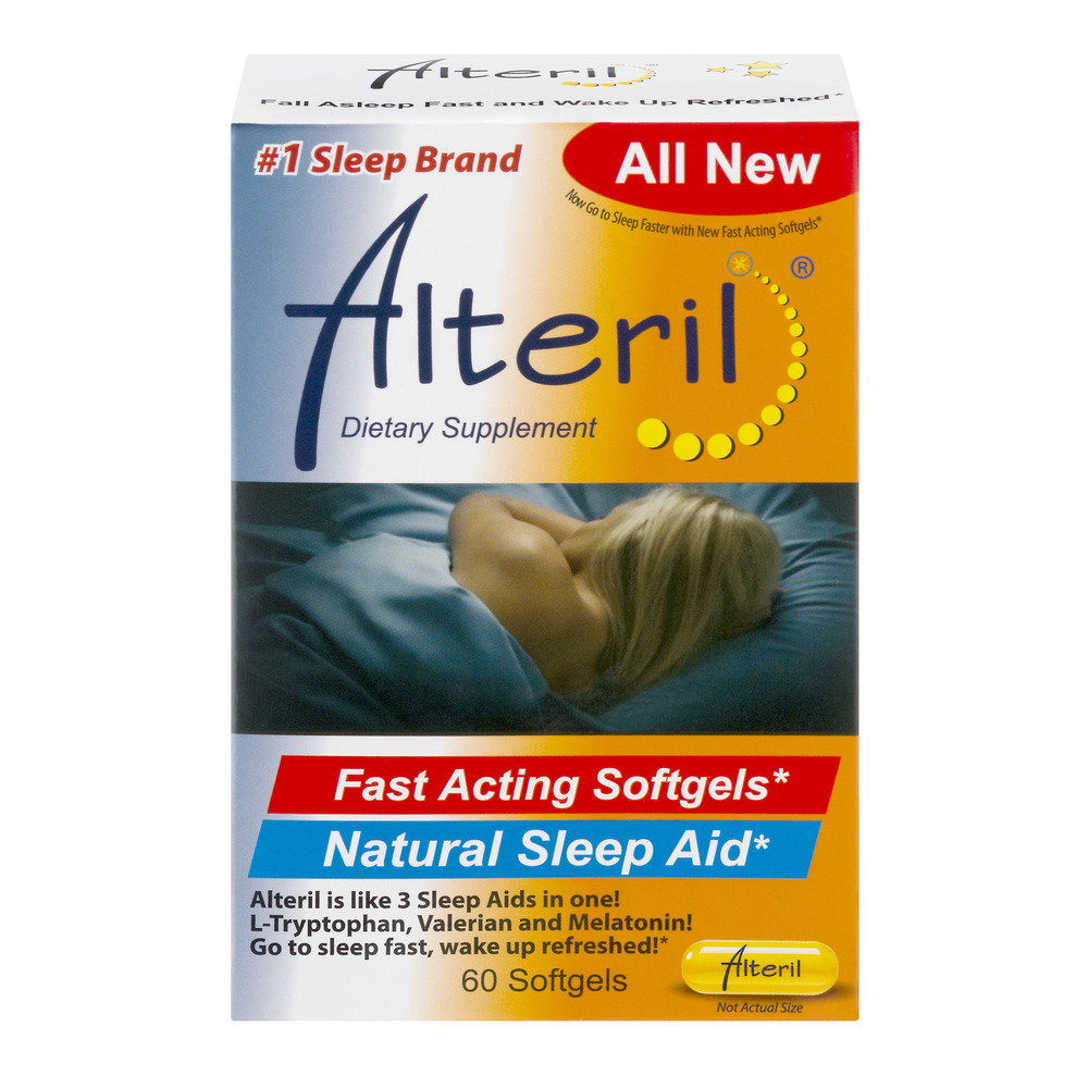 Alteril Natural Sleeping Aid - 60 CT