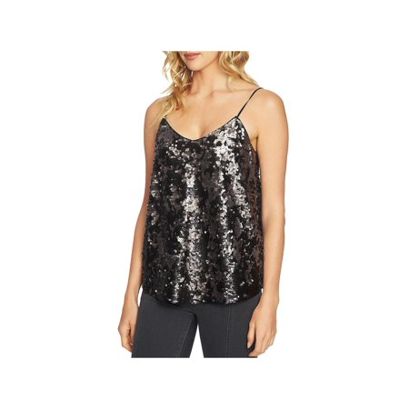 1.State Womens Sequined Spaghetti Straps Camisole Top