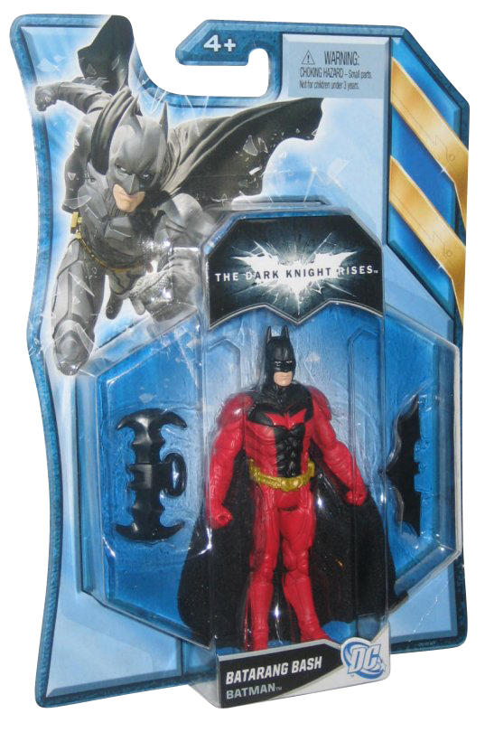 DC Comics Batman The Dark Knight Rises Batarang Bash Mattel Action Figure by Mattel