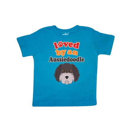 Aussiedoodle Dog Gift Toddler T-Shirt