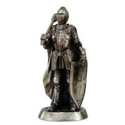 """Medieval Knight With Hammer 7"""" Statue 9039"""