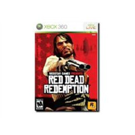 Red Dead Redemption, Rockstar Games, Xbox 360, Preowned/Refurbished