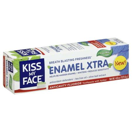 Kiss My Face Enamel Extra Toothpaste - 4.5 oz.