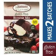 Namaste Foods Gluten Free Brownie Mix, 30 oz Box