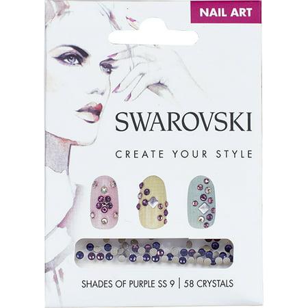 Swarovski Nail Art Loose Crystals - Purple SS9