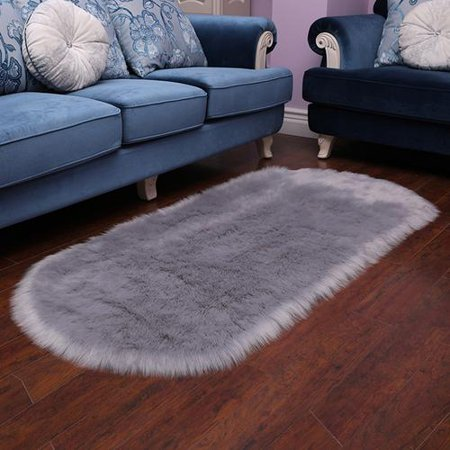 Terrific 60 120Cm Imitated Wool Oval Living Room Carpet Nursery Rug Download Free Architecture Designs Embacsunscenecom
