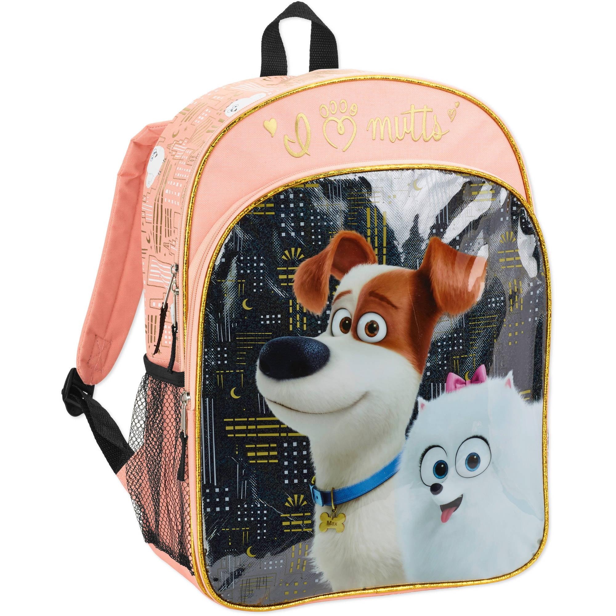 The Secret Life of Pets City Lights Kids' Backpack - Walmart.com