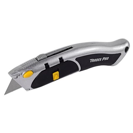 Trades Pro Auto Loading Box Cutter Utility Knife - 837356 Box Knife Holder
