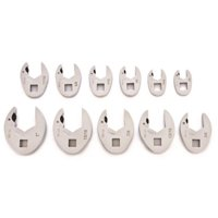 GearWrench 89118 11 Piece Sae Ratcheting Crowfoot Wrench Set