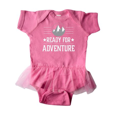 Ready For Adventure Hiking Camping Infant Tutu Bodysuit