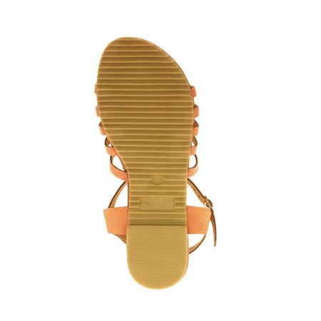 Victoria K Women's Studded Cross Over Sandals