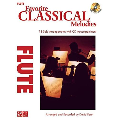Hal Leonard Favorite Classical Melodies-Flute (Book and CD)