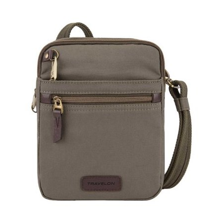 Travelon Anti-Theft Courier Small North/South Slim Bag  8