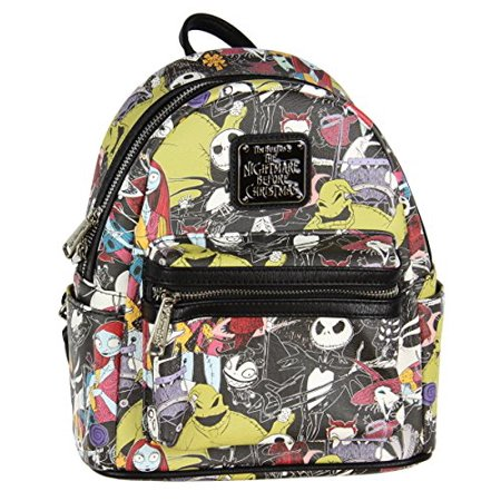 The Nightmare Before Christmas Allover Print Character Mini Backpack](Nightmare Before Halloween Characters)