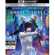 Ghost in the Shell (4K Ultra HD + Blu-ray + Digital HD) by
