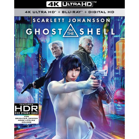 Ghost in the Shell (4K Ultra HD + Blu-ray + Digital HD)