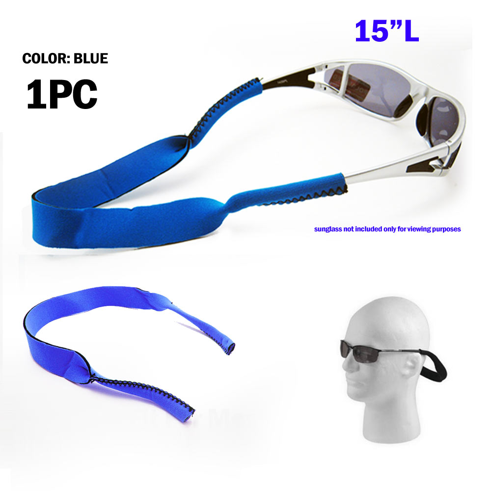Eyeglass Sunglass Neoprene Fishing Retainer Cord Eyewear Strap Holder Band New