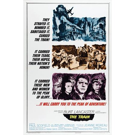 The Train POSTER Movie (27x40)