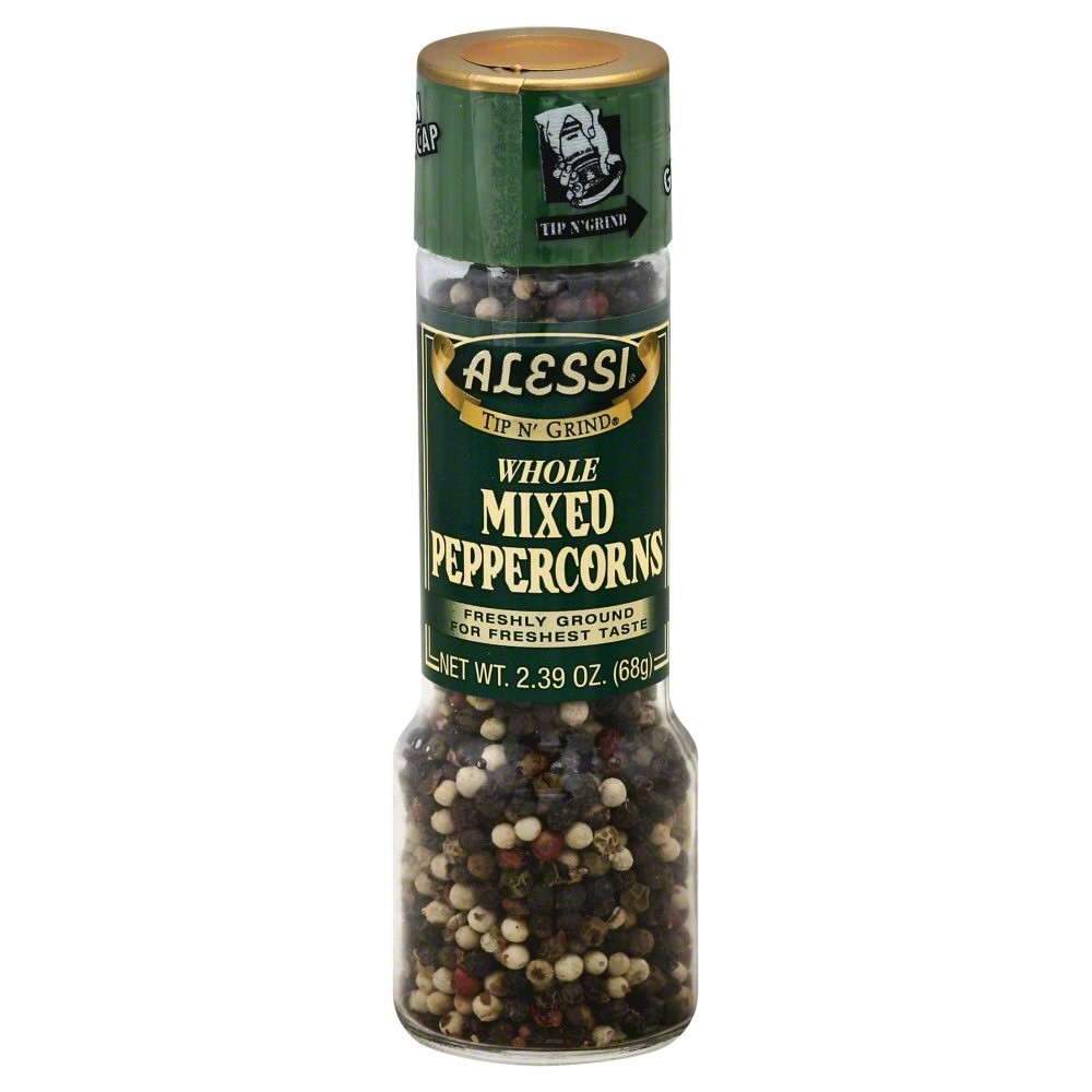 Alessi Whole Mixed Peppercorn, 2.39 Oz