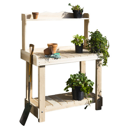 Rustic Natural Cedar Furniture Novelty Plant Stand