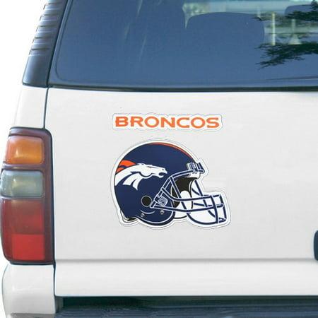 Denver Broncos 5'' x 7'' Helmet Multi Magnet Pack - No -