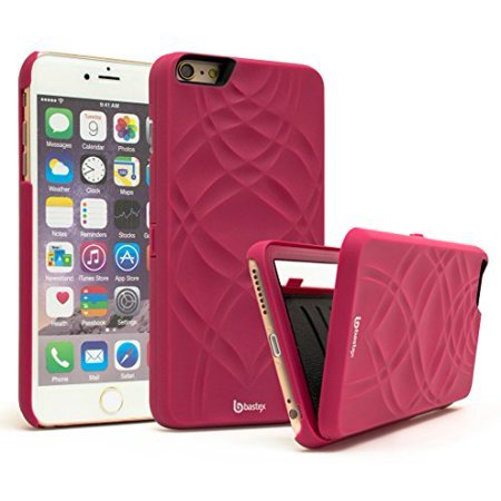 iPhone 6 /6s Case, Bastex Hidden Back Mirror Wallet Case with Stand Feature and Card Holder for Apple iPhone 6 , 6S 4.7
