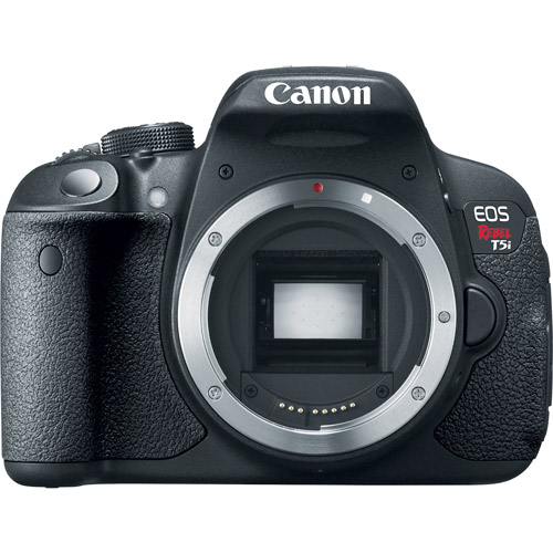 Canon Black EOS Rebel T5i Digital SLR with 18 Megapixels (Body Only)