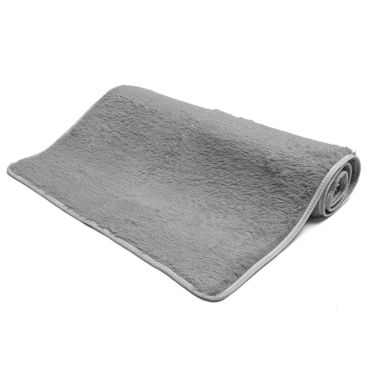 55x28 inch fluffy rugs shaggy area rug antiskid rug