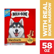 Dog Treats: Milk-Bone Maro Snacks Large