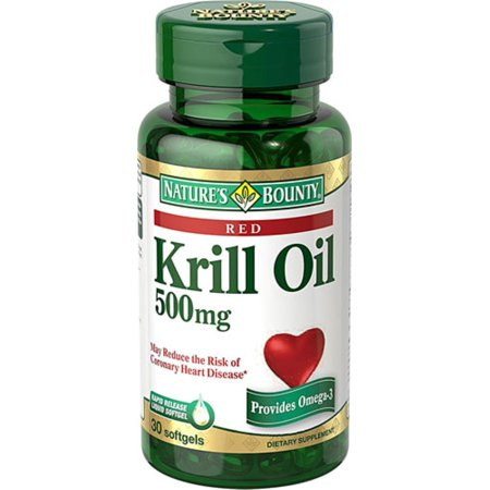 2 Pack - Nature's Bounty Krill Oil Red 500 mg Complément alimentaire gélules 30 gélules __gVirt_NP_NNS_NNPS<__
