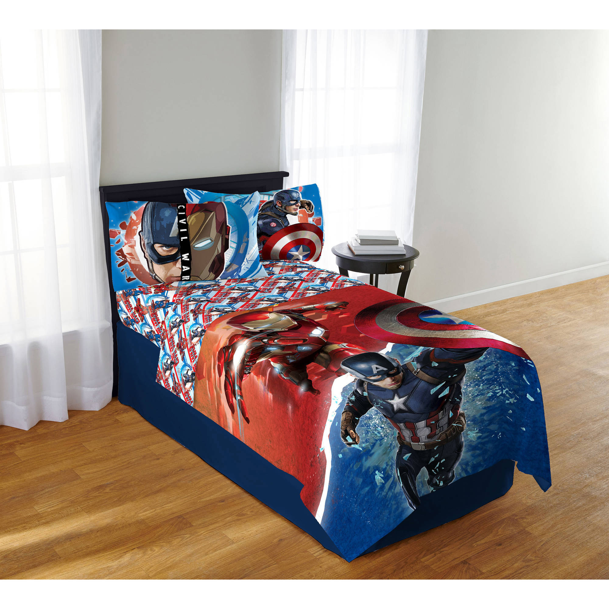 Marvel Avengers Civil War Sheet Set