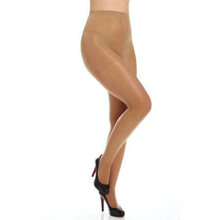 Women's 4417 Plus Size Silky Sheer Support