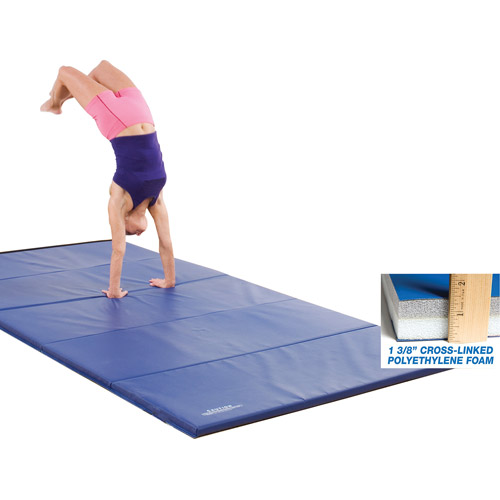 GSC Training Ultimat, 6' x 12', 2' Panel, 4-Sided Fasteners, Blue