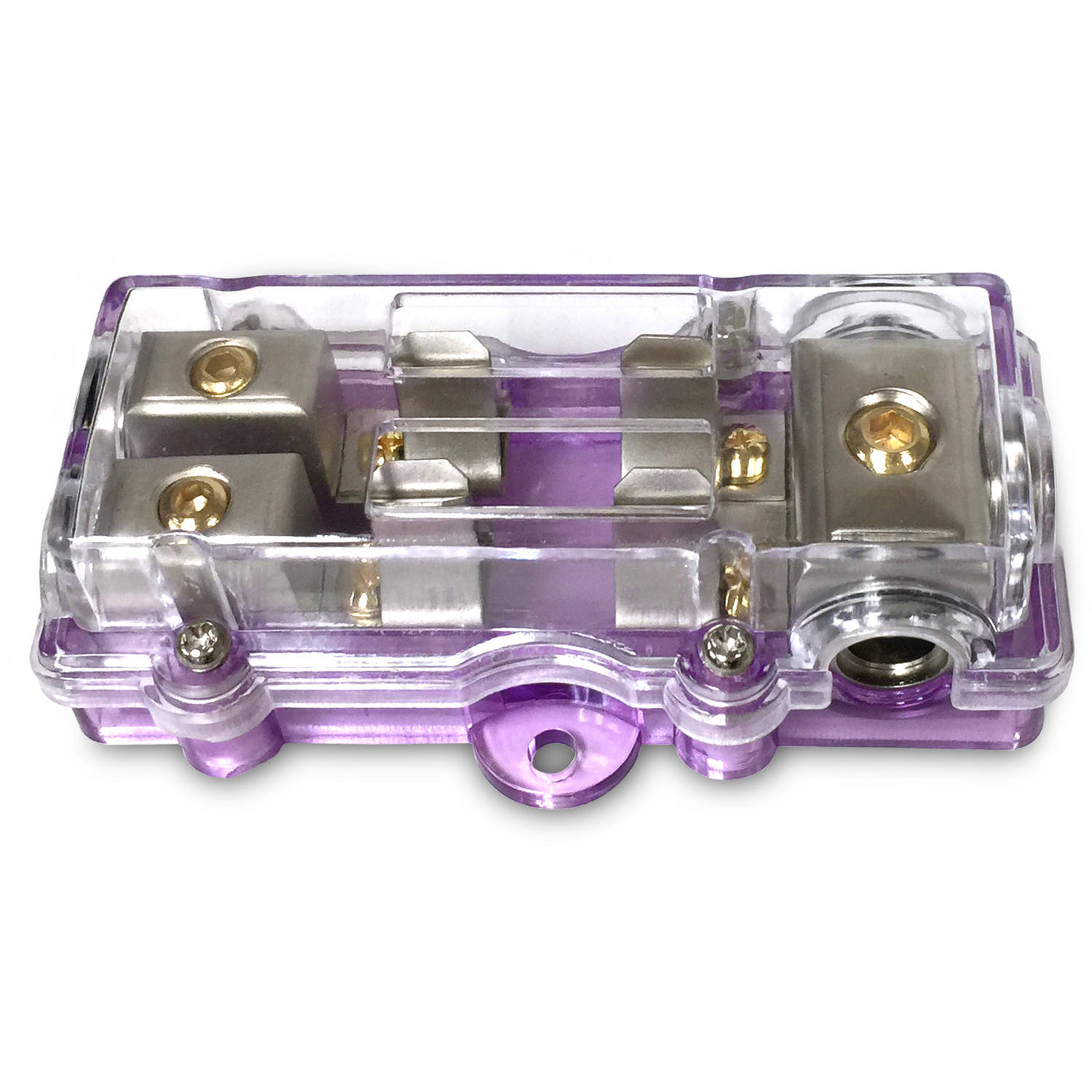 AGU Fuse Distribution Block 4 way in / to 2 ea 8 way out