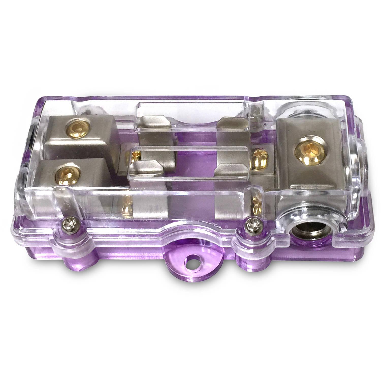 "StingPro Maxi Fuse Block, 3"" 4-Gauge, 2 Out 8-gauge"