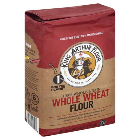 King Arthur Flour 100% Premium Whole Wheat Flour 5 lb. Bag