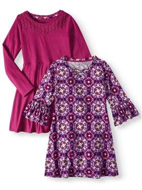 7aab76db2 Big Girls Dresses   Rompers - Walmart.com