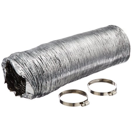 Active Air 6 Inch Non Insulated Air Duct  25 Feet