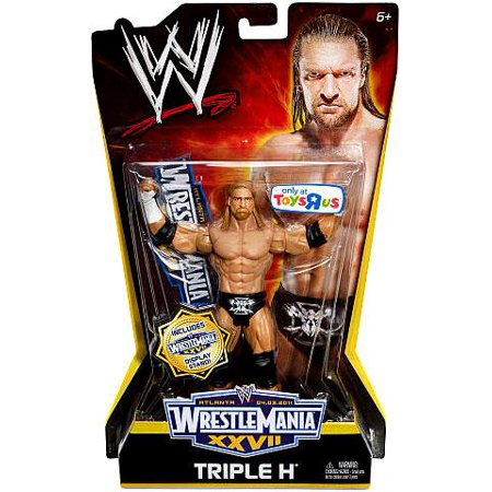 WWE Wrestling WrestleMania 27 Triple H Action