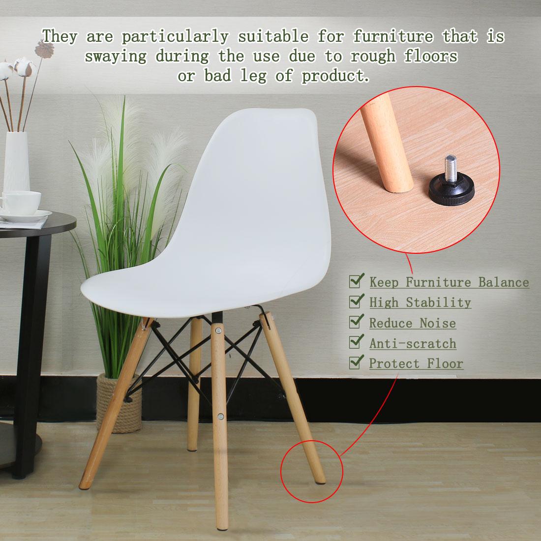 M10 x 20 x 37mm Leveling Feet Floor Protector for Home Apartment Sofa Leg 12pcs - image 5 de 7