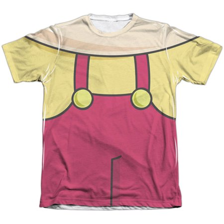 Family Guy Men's  Stewie Costume Sublimation T-shirt White](Halloween Stewie)