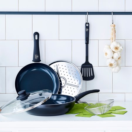 GreenLife Diamond Ceramic Non-Stick 8-Piece Cookware Set for $<!---->