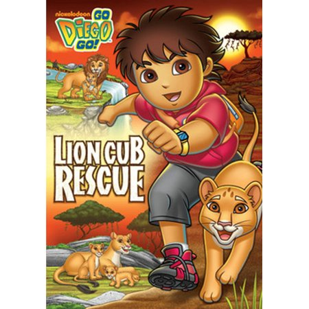 Go Diego Go: Lion Cub Rescue (DVD) (Go Diego Go Welcome Home Lion Cub)