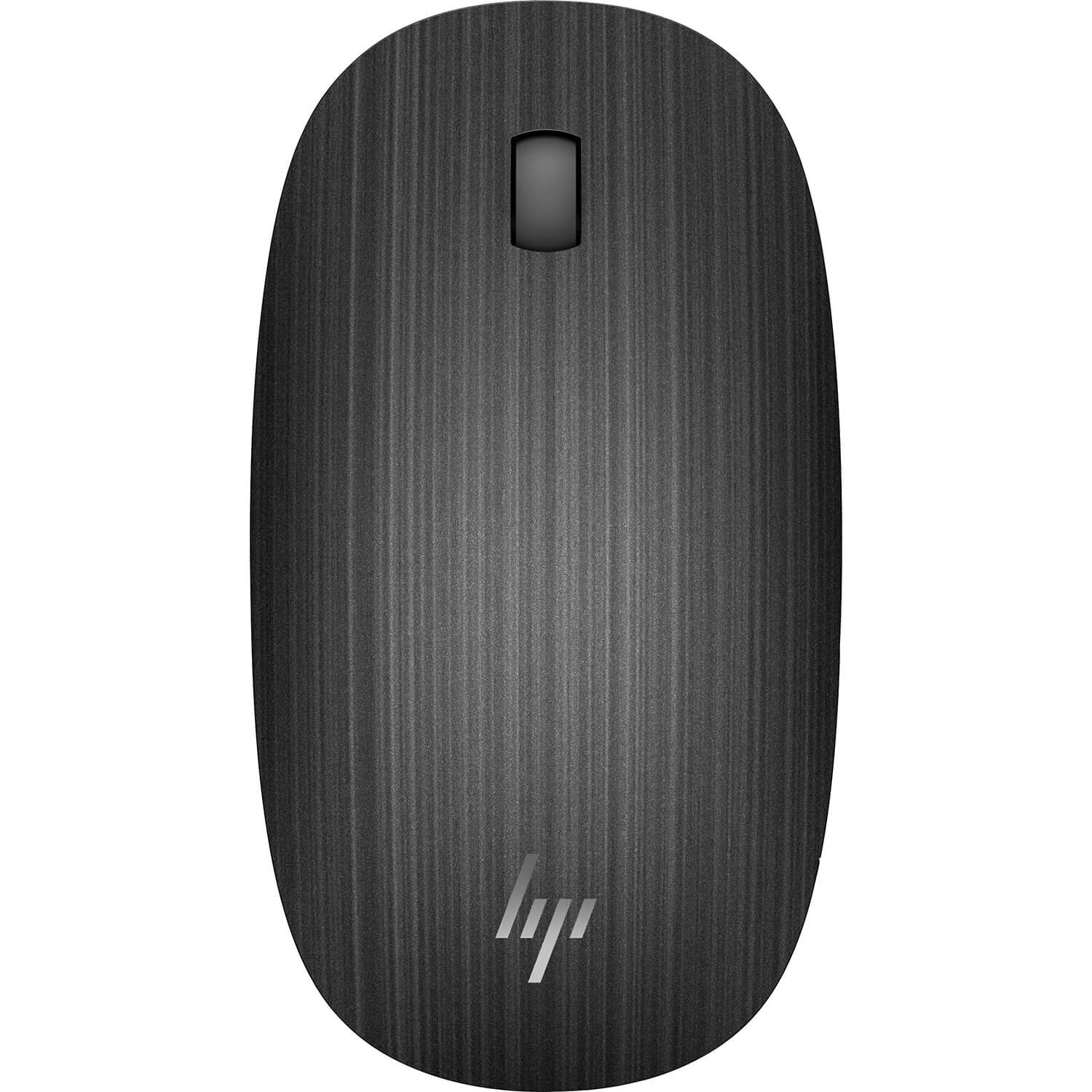 Refurbished HP Spectre 510 3-Button Wireless Bluetooth Optical Scroll Mouse 1600 DPI - Black