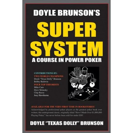 Super System 1  A Course In Power Poker