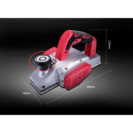 Techtongda 220V small flat planning machine electric planer portable planer