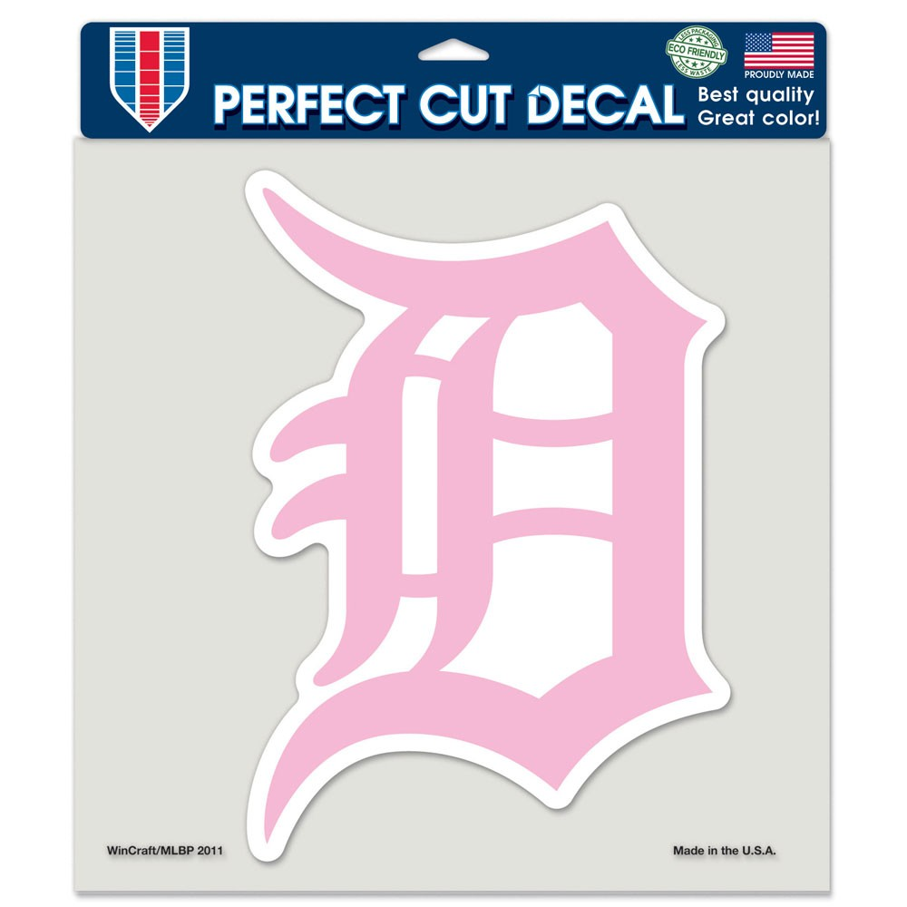 Detroit Tigers Official MLB 8 inch x 8 inch  Die Cut Car Decal by Wincraft